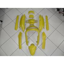 Carenagem Burgman An125 Completo Verm/prata/preto/amarela