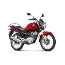 Kit Carenagem Rabeta Completo Honda Fan150 Vermelha 2015