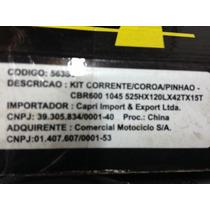 Kit Coroa/pinhao Honda Cbr 600 - Coroa 42 - Pinhâo 15