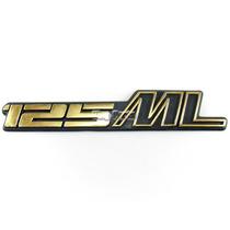 Emblema Tampa Lateral Dourado (sem Pinos) - Cg 125 Ml
