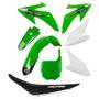 Kit Plásticos Honda Crf 230 Roupa Verde Com Banco + Brinde