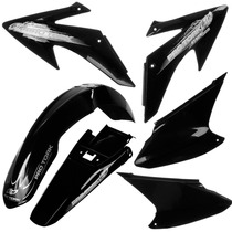 Kit Plasticos Roupa Honda Crf 230 Pro Tork Preto + Brinde