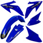 Kit Plasticos Roupa Honda Crf 230 Pro Tork Azul + Brinde