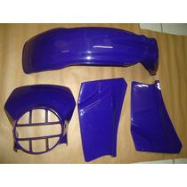 Kit Plasticos Honda Xl 125 96 Azul