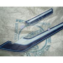 Adesivo, Jogo De Faixa Honda Cg Bolinha 1981 Azul