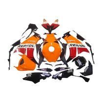 Kit Carenagem Cbr1000 2012 2014 Repsol Completo C Acabamento