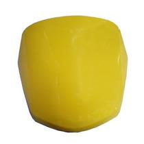 Carenagem Do Farol Honda Pop 100 07/08 Amarelo Melc Alta Q