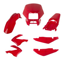 Kit Carenagem Completo Bros 2003/04/07/08 Vermelho Caucaia