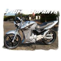 Carenagem Sportbike Honda Cbx250 Twister Primer Preto Fosco