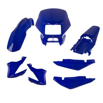 Kit Carenagem Completo Honda Bros 2003 2004 Azul Penedo