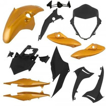 Kit Plásticos Carenagem Completo Honda Cb300 2010 A 2012