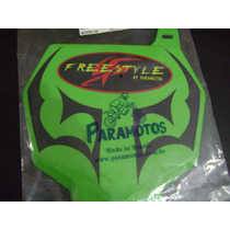 Number Plate Tribal Paramotos Universal Verde Kawasaki