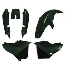 Carenagem Kit Completo Ybr 125 Verde 2006/2007