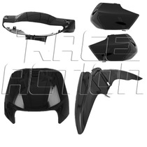 Kit Plásticos Carenagem Frontal Honda Biz 100 De 1998 A 2005