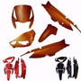 Kit Para Biz 125 Es 13/14 Vermelho Pimen
