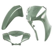 Kit Conjunto Carenagem Honda Biz 125 2011 - Verde Metálico