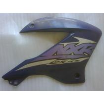 Carenagem Aba Tanque Honda Nxr125 Bros Azul 2003 2004