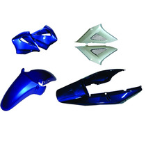 Carenagem Kit Completo Cbx 250 Twister Azul 2001/2002