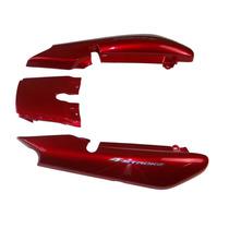Rabeta Completa Ybr 125 Vermelho 2008 K/e/ed Com Adesivo