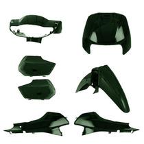 Kit Plástico Carenagem P/ Biz 100 Ano 2002 - Verde