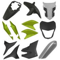 Kit Plásticos Carenagem Honda Xre300 Verde+ Brinde