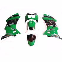 Carenagem Ninja 250 Frontal/ Lateral/ Paralama / Monoposto