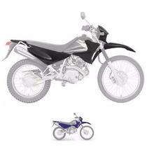 Kit De Carenagem Yamaha Xtz 125 - Até 2005 - S/ Ad - Preto
