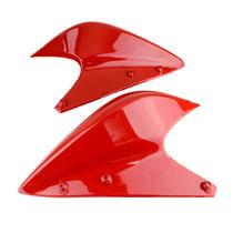 Carenagem Lateral Superior Vermelha (par) Honda Xre300