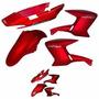 Kit De Carenagem Yamaha Ys 250 Fazer - Vermelho 2007 - Ades
