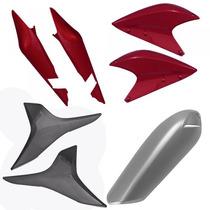 Kit Plástico Carenagem P/ Xre 300 Ano 2010 - Vermelho