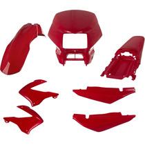 Carenagem Kit Completo Bros150 Vermelho 2003/04/05 E 2007/08