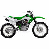 Kit Plástico Crf 230 Avtec 2015 - Verde