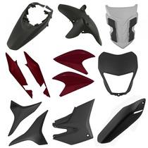 Kit Plástico Carenagem P/ Xre 300 Ano 2012 - Vermelho