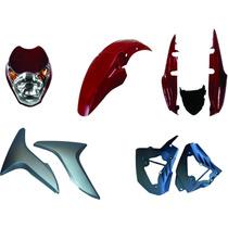 Carenagem Kit Completo Titan 150 Vermelho 2009