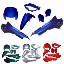 Kit De Carenagem (pintado) - Honda Biz 100 / Biz+ S/ Adesivo