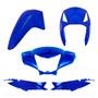 Kit Plástico Carenagem Biz 125 Es Ks Ano 2007 Azul Metálico