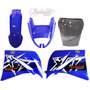 Kit Carenagem Xt660 Azul 2008 C/ Bolha Bombachinijet&cross