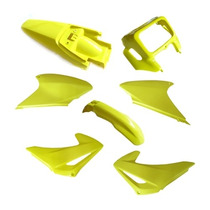 Kit Plásticos Completo Crf230 7 Peças Amarelo - Paramotos