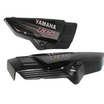 Tampa Lateral Yamaha Rd 125 135 Com Adesivo Preto 98