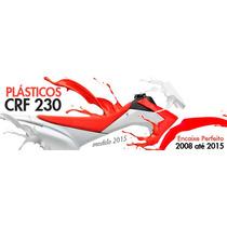 Kit Plastico Roupa Crf 230 2015 Completo Pro Tork Lançamento