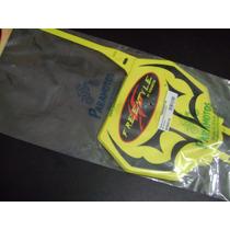 Number Plate Tribal Paramotos Universal Amarelo