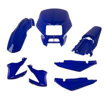 Kit Plástico Carenagem P/ Nxr Bros 150 Ano 2005 2006 - Azul