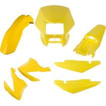 Carenagem Kit Completo Bros 150 Amarelo 2008