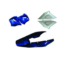 Carenagem Kit Cbx 250 Twister Azul 2004 Sem Paralama Diant.
