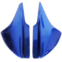 Tampa Lateral (par) Azul Honda Cg150 Titan D Ano De 2004
