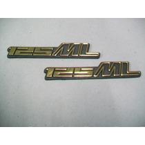 Emblemas Da Tampa Lateral Para Ml 125 83 A 88