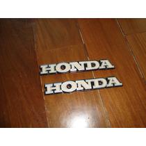 Emblema Do Tanque Honda Cg Bolinha Em Aluminio (novo)