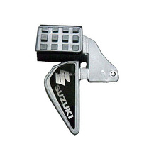 Protetor De Calçados Para Pedal De Motos - Cinza Suzuki