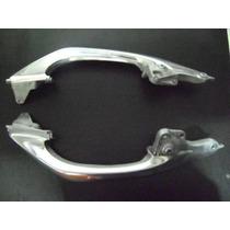 Alca Traseira Nxr Bros 150 Aluminio Polido Par