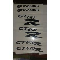 Kit Adesivos Para Hyosung Kasinski Comet Gt250r/gt650r